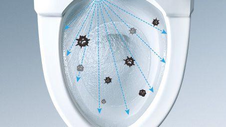トイレを使うたび、見えない菌を除菌