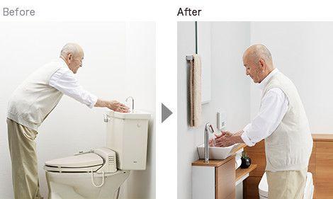 別置き手洗器