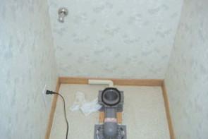 止水栓取り換え後